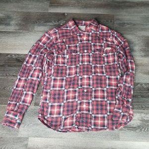 Lucky brand long sleeve Men's shirt